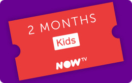 Now TV Kids 2 Month Pass