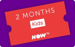 Now TV Kids 2 Month Pass