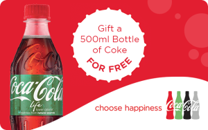 500ml Bottle of Coca Cola Life
