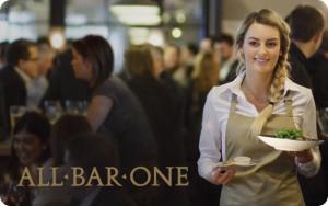 All Bar One eGift