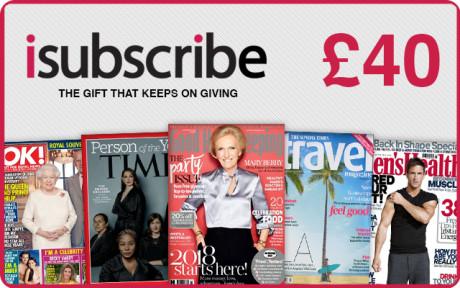 £40 Magazine Subscription