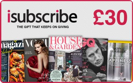 £30 Magazine Subscription