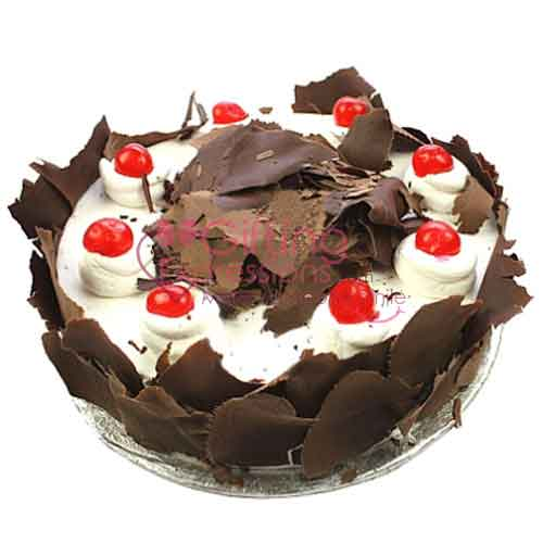 Send Black Forest Cake From Marriott Hotel To Pakistan