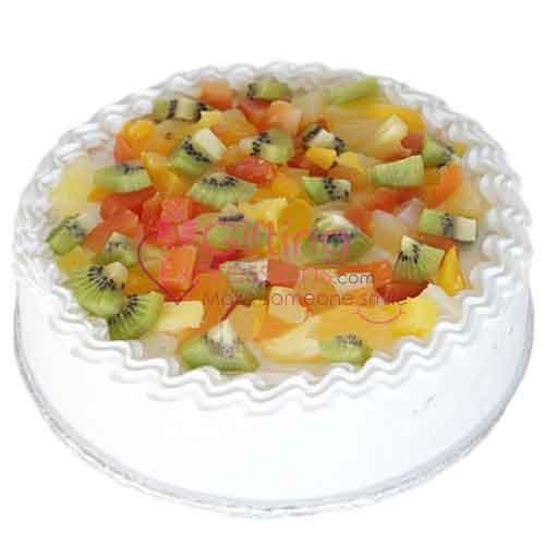 Send Fresh Fruit Cake From Avari Hotel To Pakistan