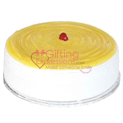 Send Lemon Cheese Cake From Avari Hotel To Pakistan