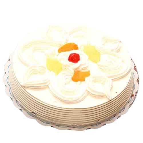 Send Pineapple Cream Cake From Avati Hotel To Pakistan