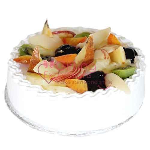 Send Open Fruit Gateau From Avari Hotel To Pakistan
