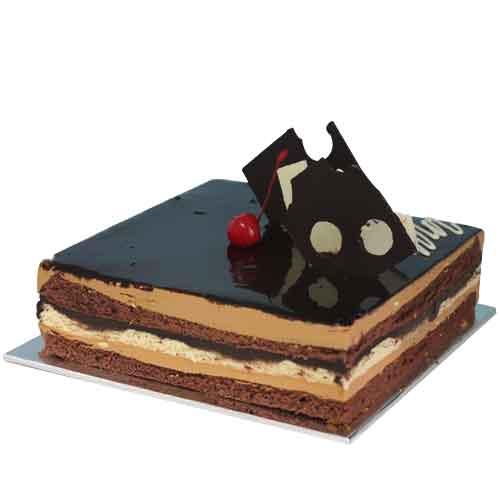 Send Chocolate Opera Cake From Serena Hotel To Pakistan