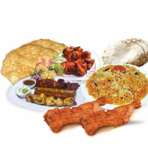 Send Student Biryani BBQ Platter To Pakistan