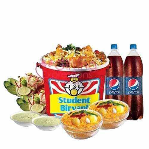 Send Student Biryani Chicken Party Pack To Pakistan