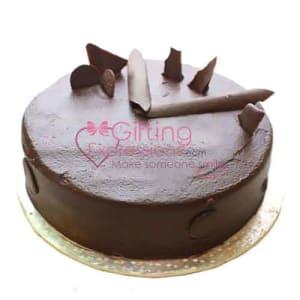 Send Double Chocolate Fudge Cake To Pakistan