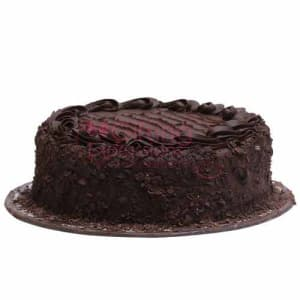 Send Double Chocolate Fudge Cake From La Farine To Pakistan