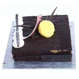 Send Chocolate Fudge Cake 2Lbs From Serena Hotel To Pakistan