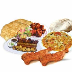 Send Student Biryani BBQ Platter To Pakistan