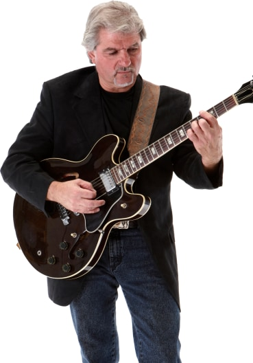Jazz Guitarist Portrait Image