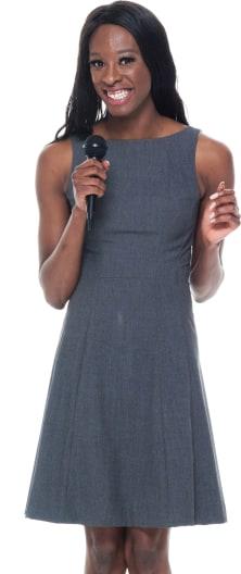 Gospel Singer Portrait Image