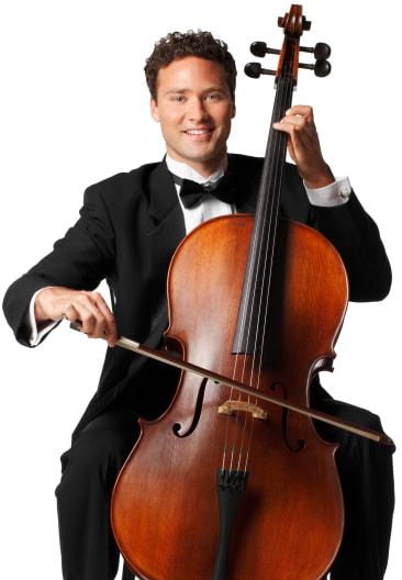 Cellist Portrait Image