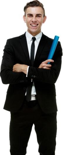 Political Speaker Portrait Image