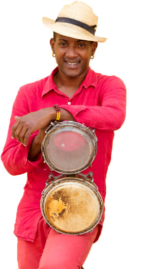 Caribbean/Island Music Portrait Image