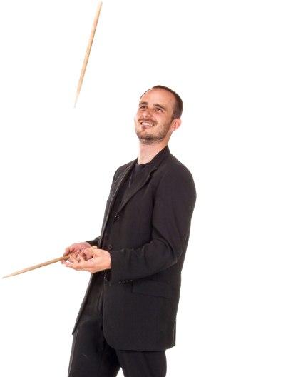 Drummer Portrait Image