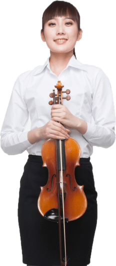 Viola Player Portrait Image