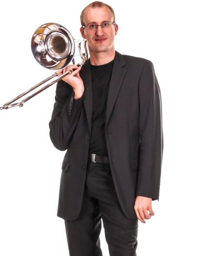 Trombone Player Portrait Image