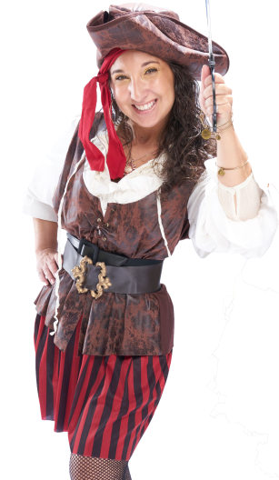 Pirate Entertainment Portrait Image