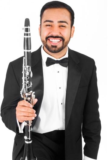 Clarinetist Portrait Image
