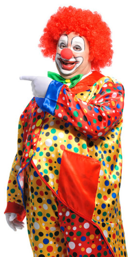 Clown Portrait Image