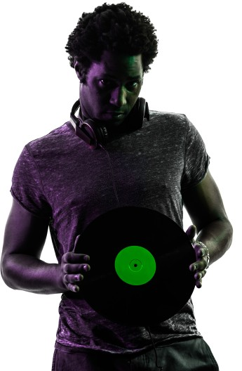 Karaoke DJ Portrait Image