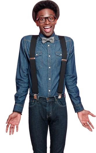 Comedian Portrait Image