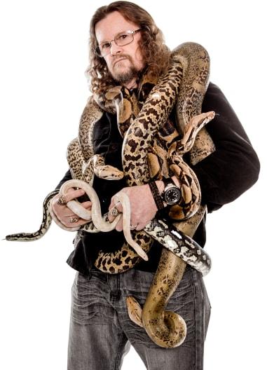 Reptile Show Portrait Image