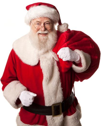 Santa Claus Portrait Image