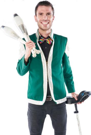 Juggler Portrait Image