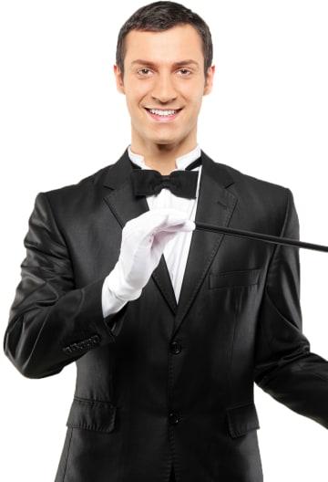 Comedy Magician Portrait Image