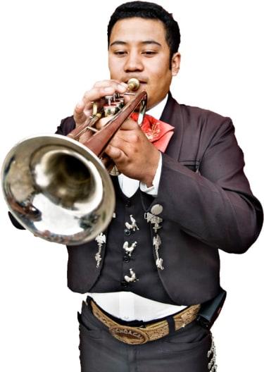 Mariachi Band Portrait Image