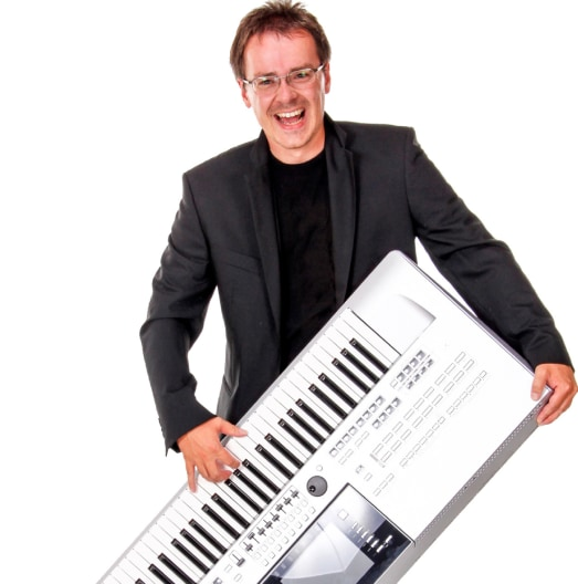 Keyboard Player Portrait Image