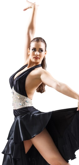 Ballroom Dancer Portrait Image