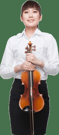 Strolling Violinist Portrait Image
