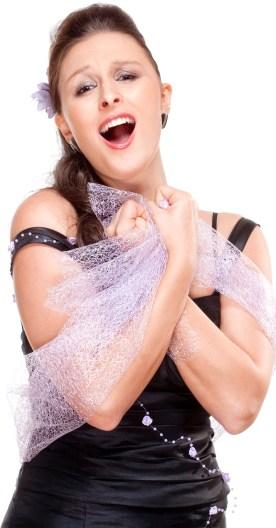 Opera Singer Portrait Image