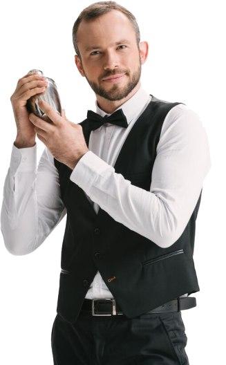 Bartender Portrait Image
