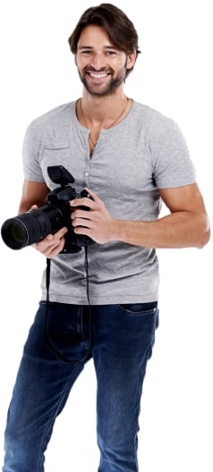 Photographer Portrait Image