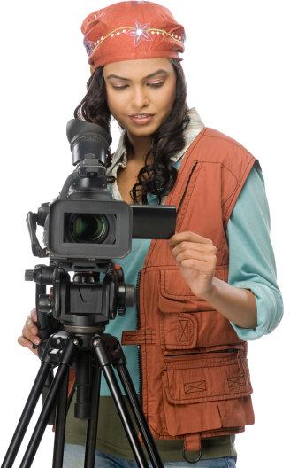 Videographer Portrait Image