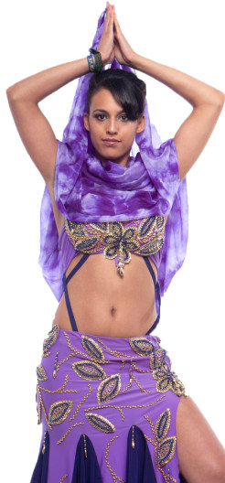 Belly Dancer Portrait Image
