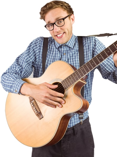 Musical Comedy Act Portrait Image
