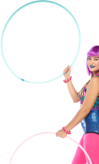 Hoop Dancer Portrait Image