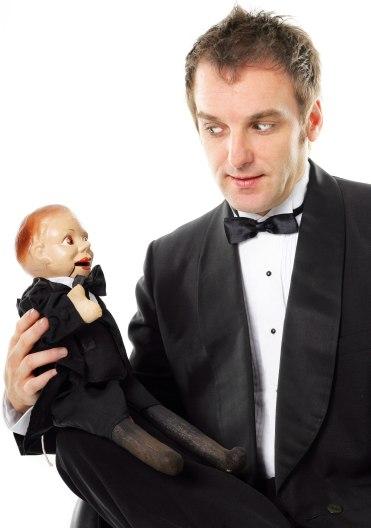 Ventriloquist Portrait Image