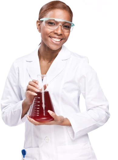 Science Party Portrait Image