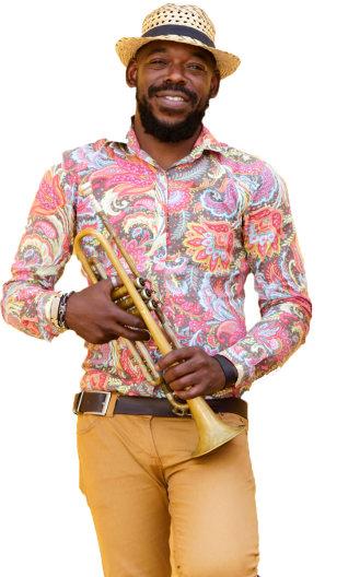 Cumbia Music Portrait Image