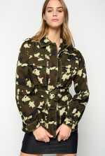 Camouflage field jacket